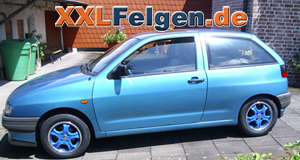 seat ibiza dbv tahiti blue 14 zoll. Black Bedroom Furniture Sets. Home Design Ideas