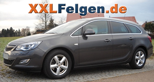 opel astra j sports tourer mit dbv samoa alufelgen und. Black Bedroom Furniture Sets. Home Design Ideas