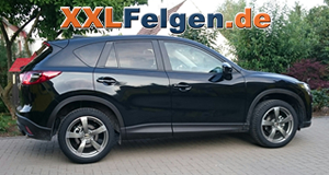 mazda cx 5 gh mit 19 zoll dbv torino ii alufelgen in. Black Bedroom Furniture Sets. Home Design Ideas